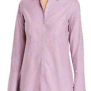 Foxcroft Purple Patrice Fitted Non-Iron Sz 8 NWT